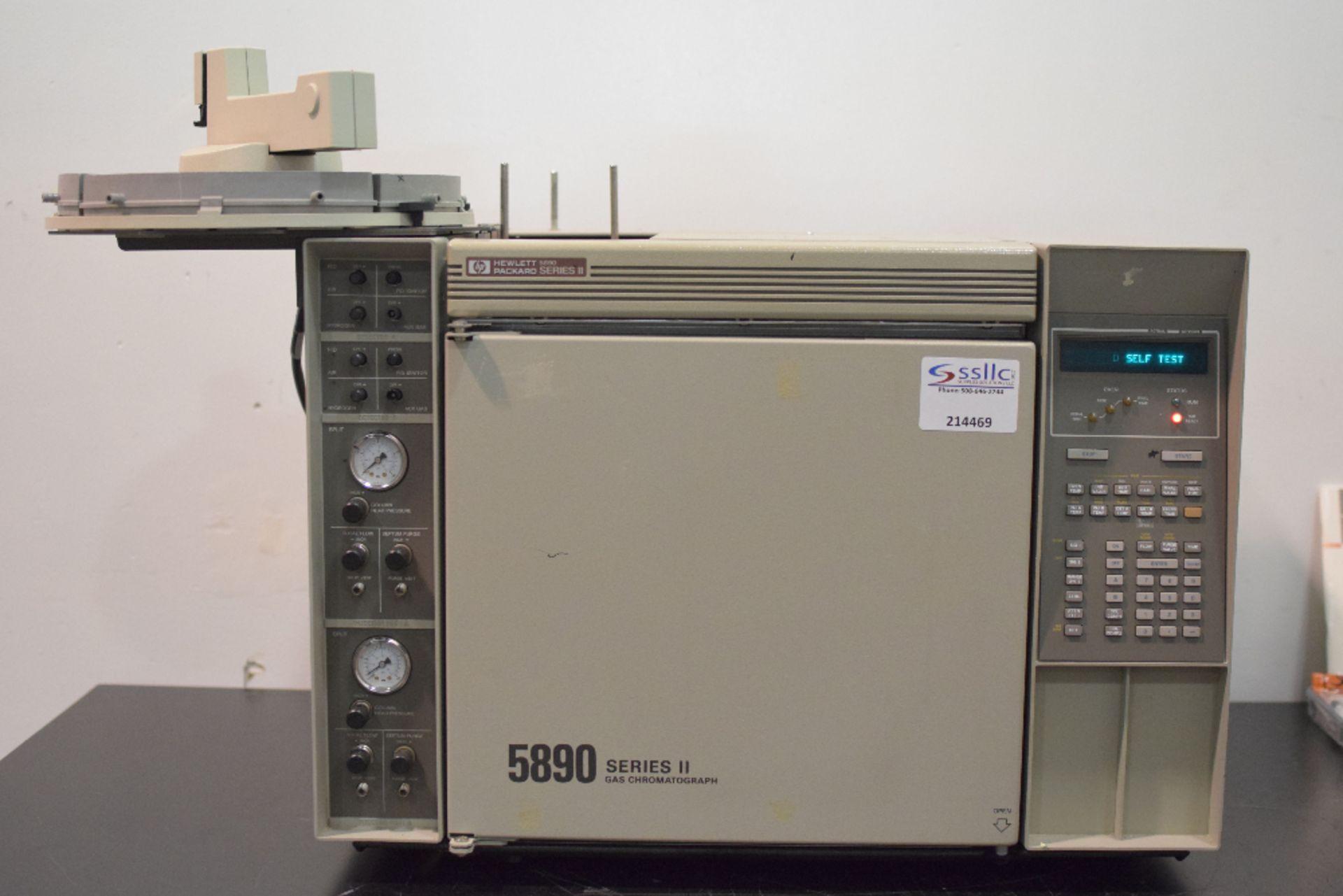 Hewlett Packard 5890 Series II Gas Chromatograph - Image 2 of 4