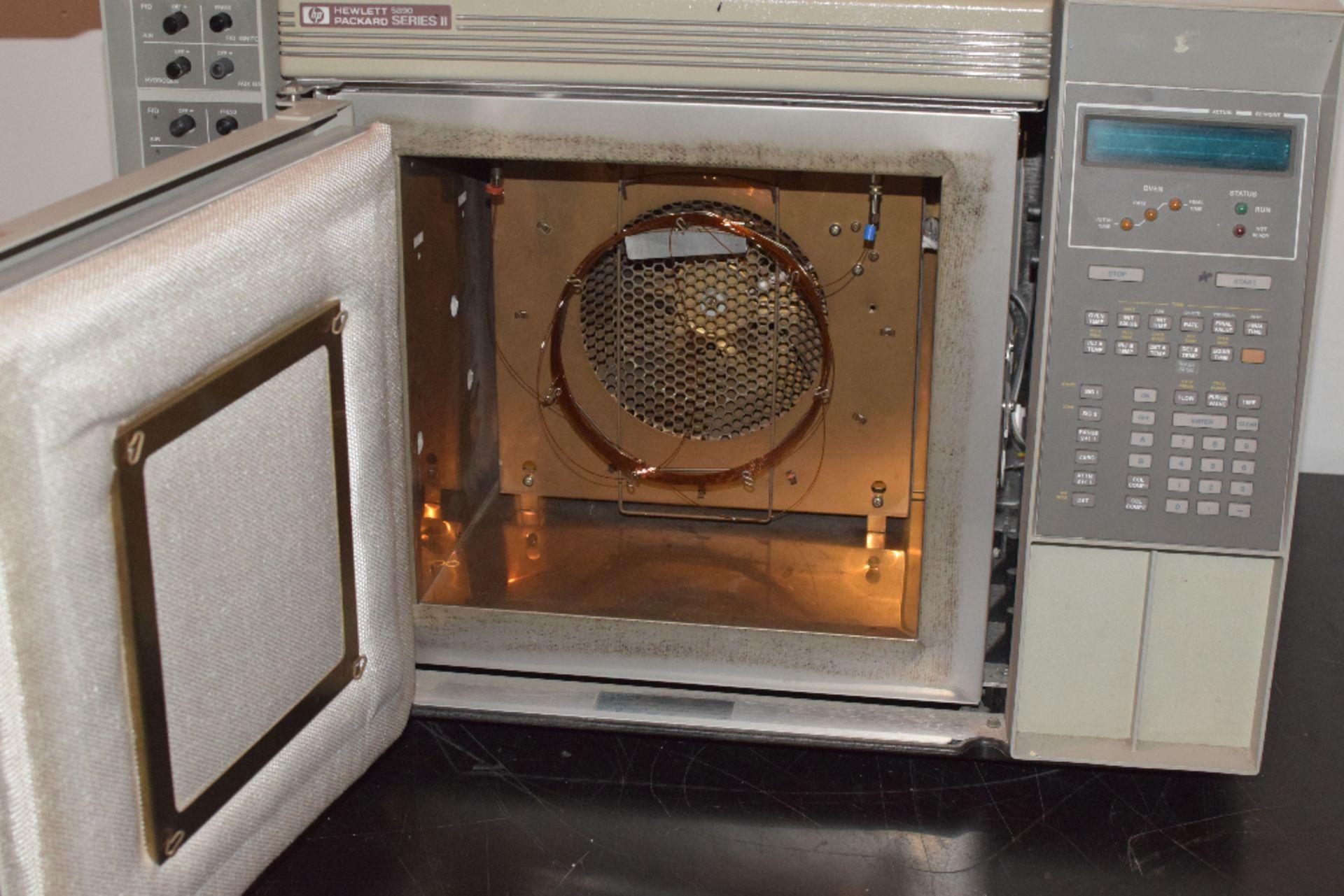 Hewlett Packard 5890 Series II Gas Chromatograph - Image 3 of 4