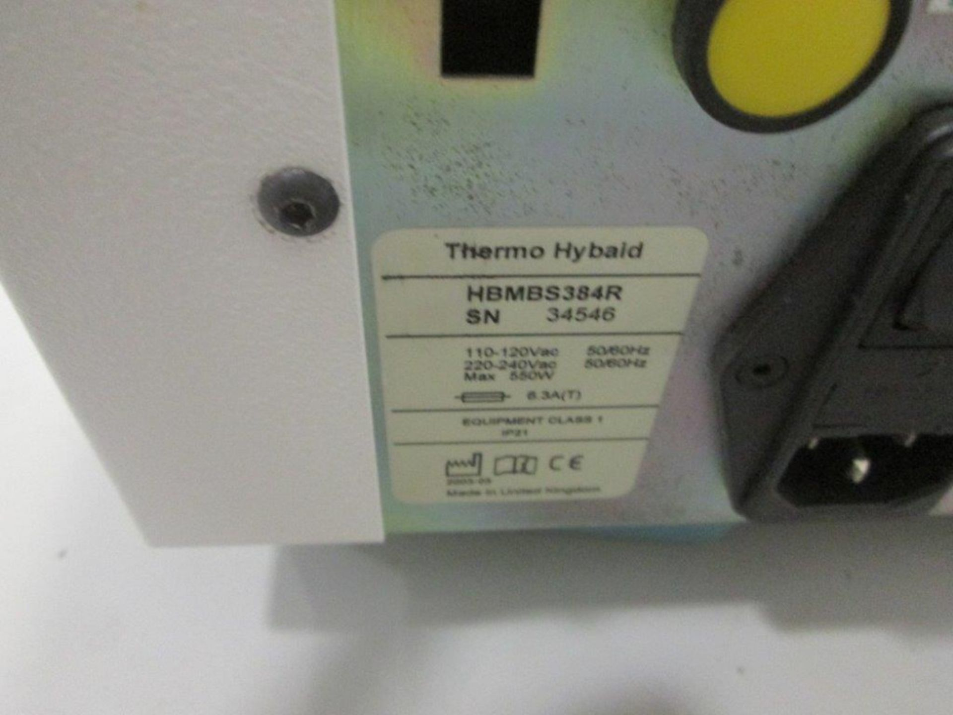Lot of (3) Thermo Electron Corp MBSr Robot Compatible Expandable PCR - Image 2 of 4