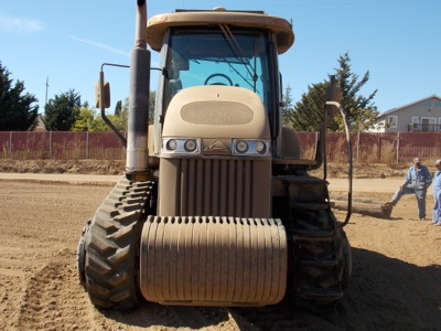 "Lot 107 - (2011) Challenger mod. MT765C, CAT-C-9-320 HP, 18"" Track, GPS Crawler Tractor, Hrs: 7986; S/N 1456"