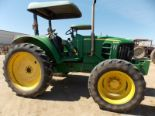 Lot 102 - (2009) John Deere mod. 6430, 4WD, Semi-Automatic Farm Tractor, 4-Spd w/ 3pt. Hitch & PTO;