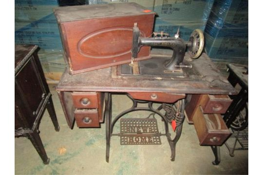 Sewing Machine New Home 40 Drawers Missing One Pull On Drawer Custom New Leaf Sewing Machine
