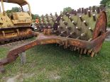 Lot 199 - Double Drum Sheepsfoot Roller, (2) 60 in Drums, 140 in Overall Width