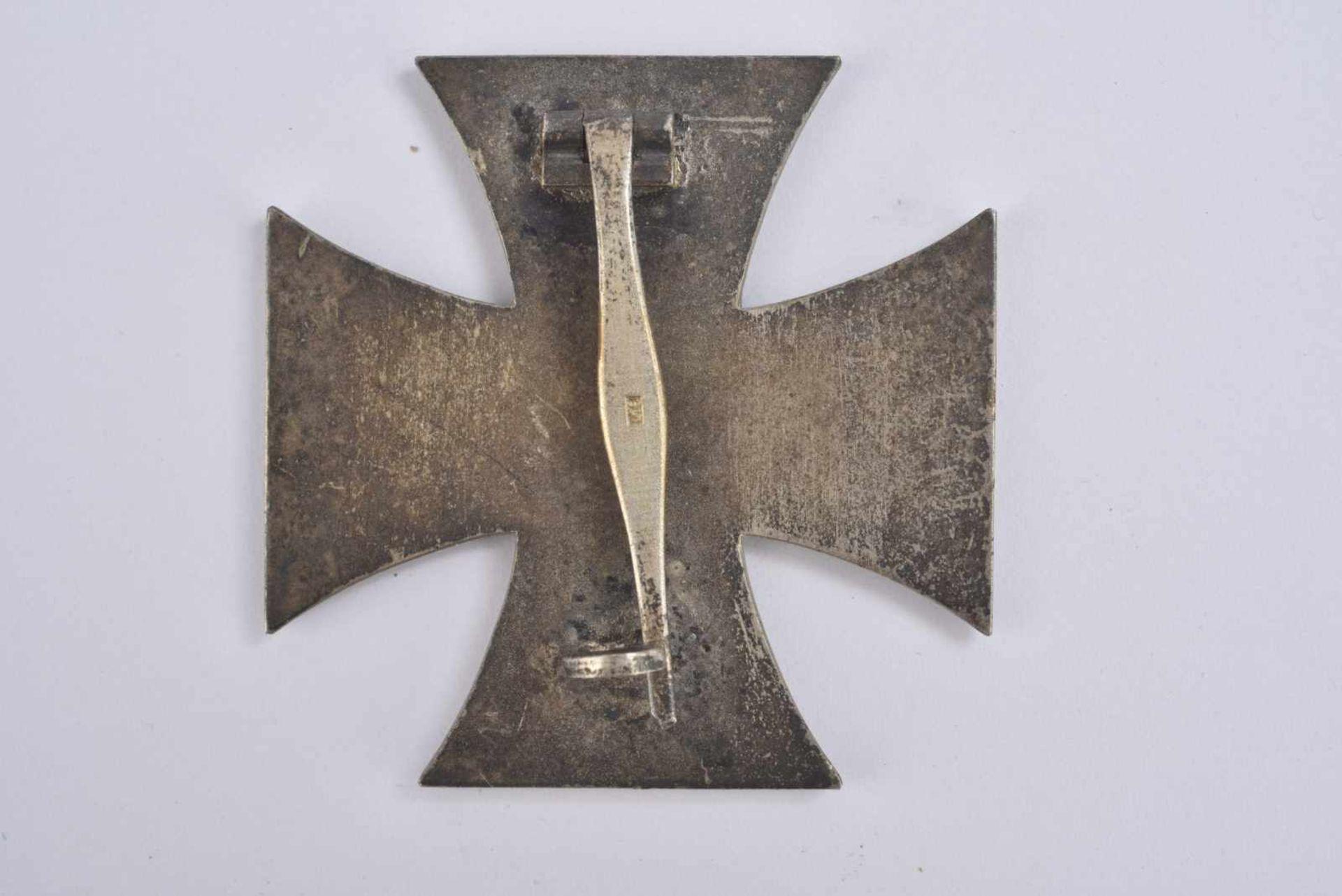 Croix de fer de première classe. Fabrication en trois parties, système de fixation complet. Marquage - Bild 3 aus 3
