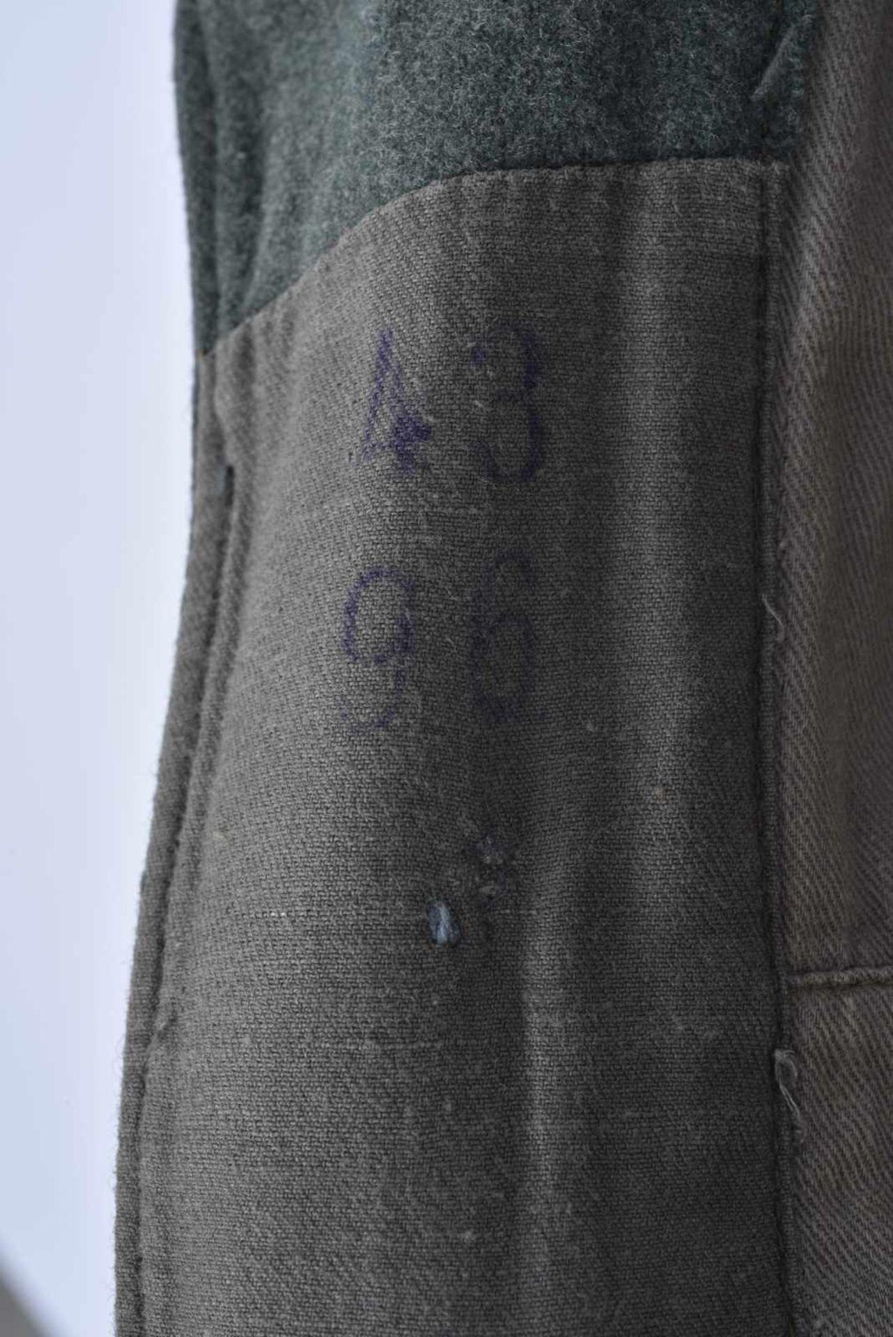 Vareuse d'infanterie de la Heer. En drap Feldgrau, tous les boutons sont présents. Intérieur - Bild 4 aus 4