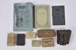 """Vie du soldat allemand Un """"Militärpass"""" d'un Rgt d'Infanterie, un livre manuel général sur l'"""