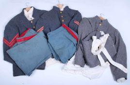 Ensemble de reproduction d'uniformes complet de la guerre de Sécession pour le théâtreComprenant