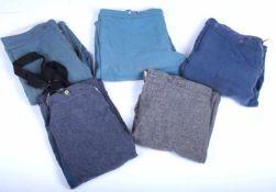 Ensemble de reproduction de pantalons de la Guerre de sécession pour le théâtre Comprenant cinq
