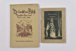 Livres de propagande allemande en Alsace Lot de deux ouvrages en langue allemande Do Lacht mi Elsass