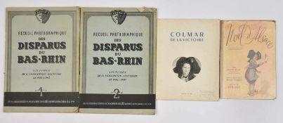 Recueil photographique des Disparus du Bas-Rhin Rare édition originale recensant les disparus du