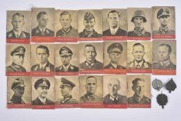 Winterhilfswerk série de 1942/1943 Comprenant trois insignes en métal de la série du 28/29 mars