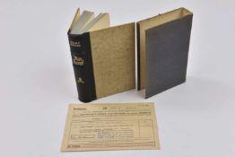 Exemplaire de luxe de Mein Kampf Edition destiné aux jeunes mariés, offert par la ville de