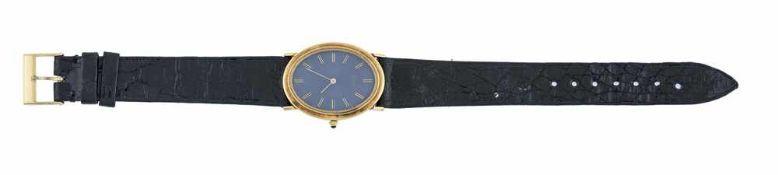 OROLOGIO PIAGET| PIAGET WATCH Orologio Piaget in oro giallo 18 kt, anni 80 cinturino in pelle. |