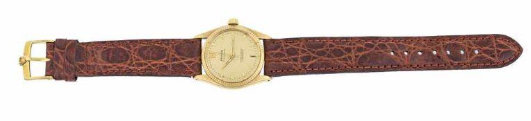 OROLOGIO ROLEX| ROLEX WATCH Orologio Rolex in oro giallo cinturino 18 kt in pelle ref 6551 | Rolex