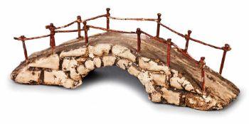 PONTICELLO IN TERRACOTTA POLICROMA | A SMALL TERRACOTTA BRIDGE Un ponticello in terracotta