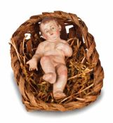 BAMBINELLO IN TERRACOTTA POLICROMA | HOLY CHILD IN TERRACOTTA Bambinello in terracotta policroma,