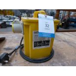 * A 1.6 KVA Rated Continuous output Transformer with Two Outlets