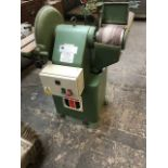 * Wadkin BGY Disc and Belt Sander. A Wadkin Type BGY Disc and Belt Sanding Machine. S/N 871062.