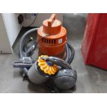 * A Vax Vacuum Model 25-040 together with a Dyson HD3-UK-FHA9330A