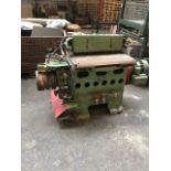 * Brookman 7-25APM Dovetailer. A Brookman Type 7-25APM Dovetailing Machine S/N 5673. Basis of