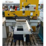 * Sedgwick 3 head Tenoner c/w Crompton Series 2000 Start/ Stop System. Please note there is a £10