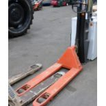 * A BT Hand Operated Pallet Truck Rated 2300Kg