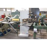 * SCM Minimax S45N 18'' Bandsaw s/n KK090269, YOM 2007. Please note there is a £10 Plus VAT Lift Out