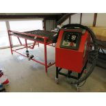 * Bassra Hotmelt Extruding Machine, Type BMT - 2000, S/N 1834 - PT100, Production date 03-07-2012,