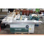 * A Felder Model K700S PP? Sliding Table Panel Saw, s/n 80-02/035-0?; YOM 2003; 5.5kW, 3 phase.