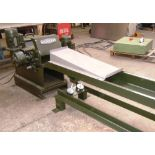 * A Klockner Model KTH-100-300K Horizontal Timber Waste Shredder, s/n 5436/82 with vibrating