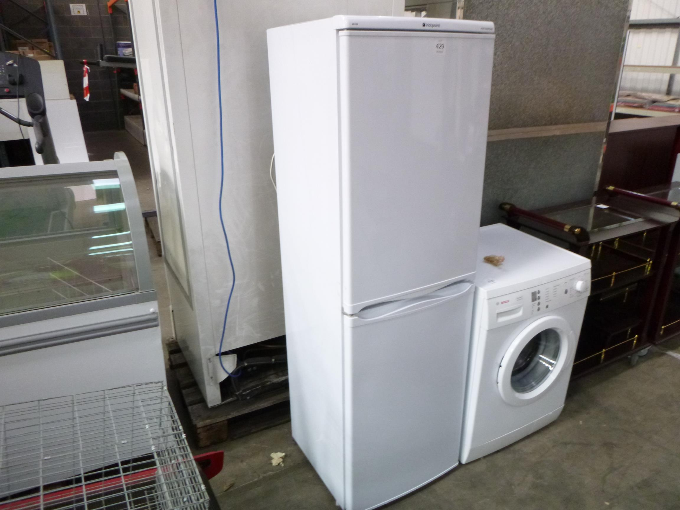 ... A Hotpoint RFA52 Iced Diamond Fridge Freezer Please note there is a