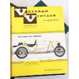 Large quantity of The Veteran and Vintage magazine dating through the 50's, 60's and early 70's,