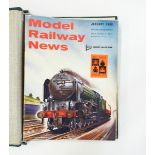 Large quantity of bound volumes of Model Railway News,