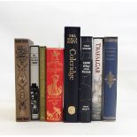 """A quantity of Folio Society books including """"The Best of Dorothy Parker"""", """"Coleridge"""","""