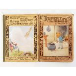 """Tourtel, Mary Four Rupert of the Daily Express albums """"Rupert and Raynard Fox"""","""