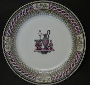 grosser Teller, Manufaktur durchgestrichen?, D-29,5 cm