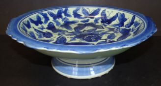 Tafelaufsatz mit Blaumalerei, China, H-11 cm, D-30 cm