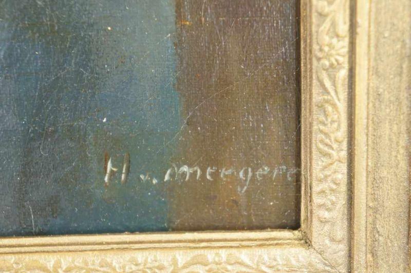 Lot 1135 - MEEGEREN, HAN VAN (1889-1947), ges. r.o., portret van arbeider met schep, doek 80 x 60 cm. MEEGEREN,