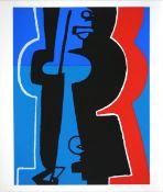 Ackermann, Max Farbsiebdruck auf glattem Karton, 65,5 x 50 cm Sommersonnenwende (1967) Bayer/