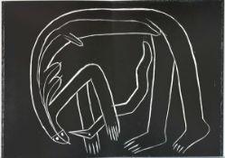 Antes, Horst 42,5 x 31,5 cm Der Engel der Geschichte 25: Engel der Behinderten (1981)