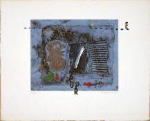 Coignard, James Farbradierung und Carborundum auf stark genarbtem Büttenpapier, 28,5 x 40 cm Ohne