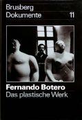 """Botero, Fernando 33 x 22,5 cm Das plastische Werk (1978) """"Brusberg Dokumente"""", 11. Ausstellung des"""