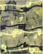 """Adochi Gouache auf Papier, 18,4 x 14,5 cm Ohne Titel (1993) Verso signiert und datiert """"26.V. - 2"""