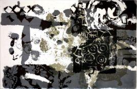 Clavé, Antoni Lithographie auf Bütten, 50 x 76,5 cm Trobadoros (1970) Passeron 247. Signiert und als