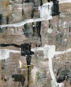 """Adochi Gouache auf Papier, 18,4 x 14,5 cm Ohne Titel (1993) Verso signiert und datiert """"27.V. - 4"""