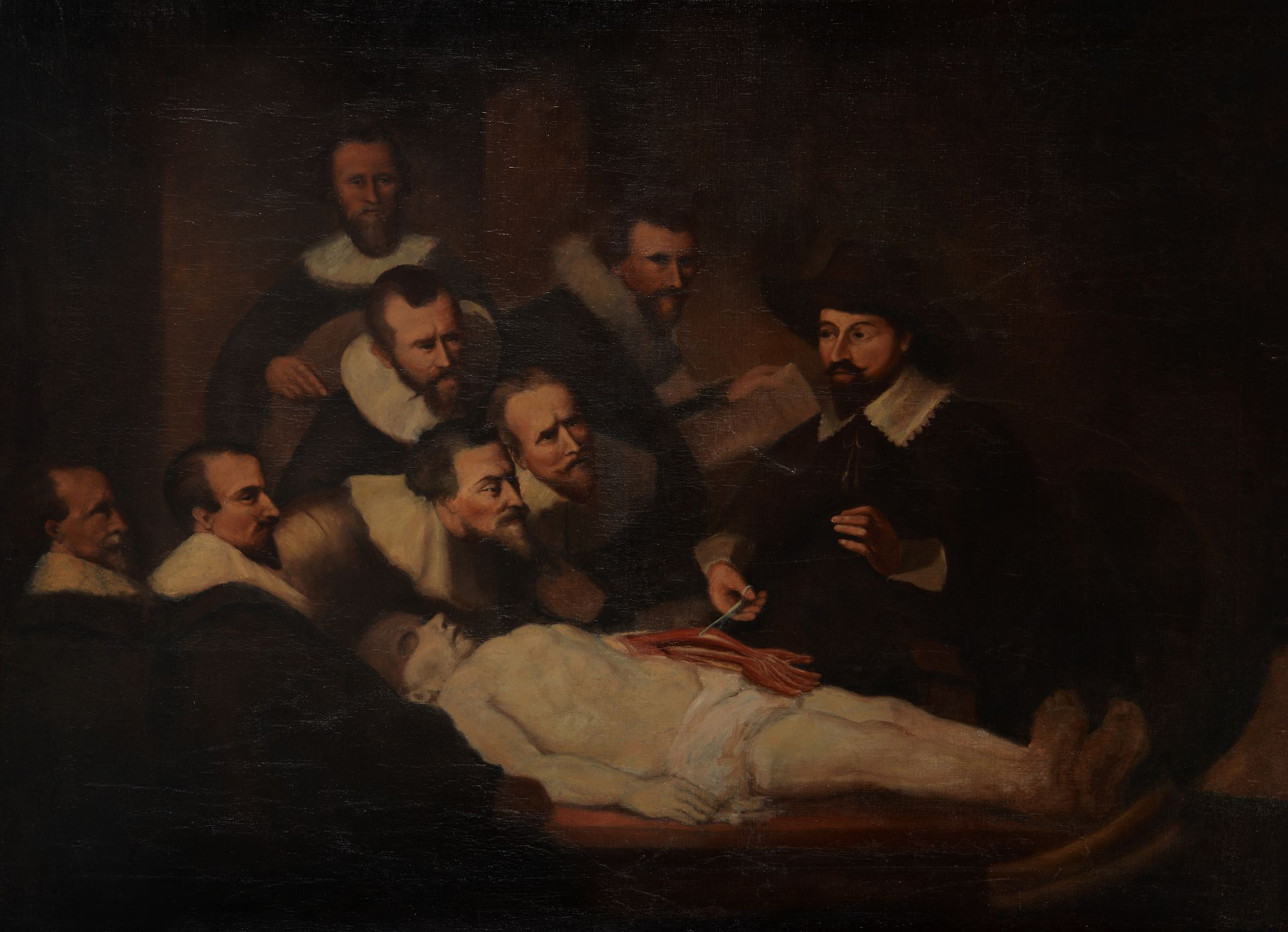 After Rembrandt Harmensz. van Rijn (19th century) - The anatomy ...