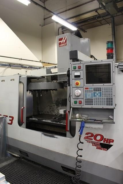 Haas model VF3, CNC vertical machining centre, serial no ...