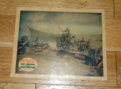 """THE CHARGE OF THE LIGHT BRIGADE (1936) US Lobby Card (11"""" x 14"""") Errol Flynn starred in this"""