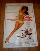 """THE BIGGEST BUNDLE OF THEM ALL (1968) (Robert Wagner and Raquel Welch) - US One Sheet (27"""" x"""