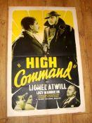 "HIGH COMMAND (1936 ) US One Sheet (27"" x 41"") Folded"